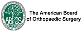 The American Board of Orthopaedic Sugery